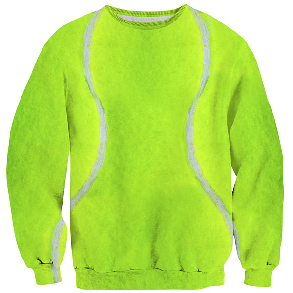 Tennis Ball Sweater-Shelfies-| All-Over-Print Everywhere - Designed to Make You Smile