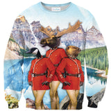 The Most Canadian Thing Ever Sweater-Subliminator-| All-Over-Print Everywhere - Designed to Make You Smile