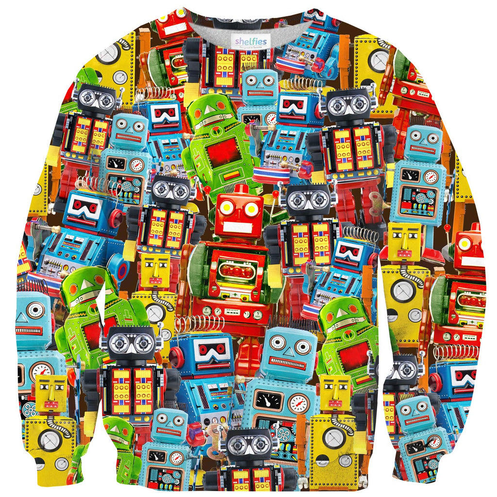 Sweaters - Toy Robot Sweater