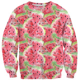 Watercolourmelon Sweater-Shelfies-| All-Over-Print Everywhere - Designed to Make You Smile