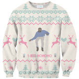 1-800-HOHOHO Sweater-Subliminator-| All-Over-Print Everywhere - Designed to Make You Smile