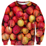 Apples Sweater - Shelfies | All-Over-Print Everywhere - Designed to Make You Smile
