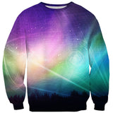 Aurora Borealis Sweater-Subliminator-| All-Over-Print Everywhere - Designed to Make You Smile