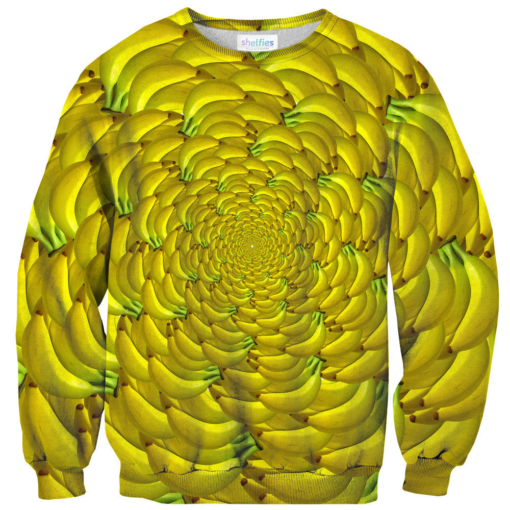 Banana Enclosure Sweater - Shelfies | All-Over-Print Everywhere - Designed to Make You Smile