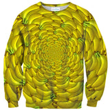 Banana Enclosure Sweater-Shelfies-| All-Over-Print Everywhere - Designed to Make You Smile