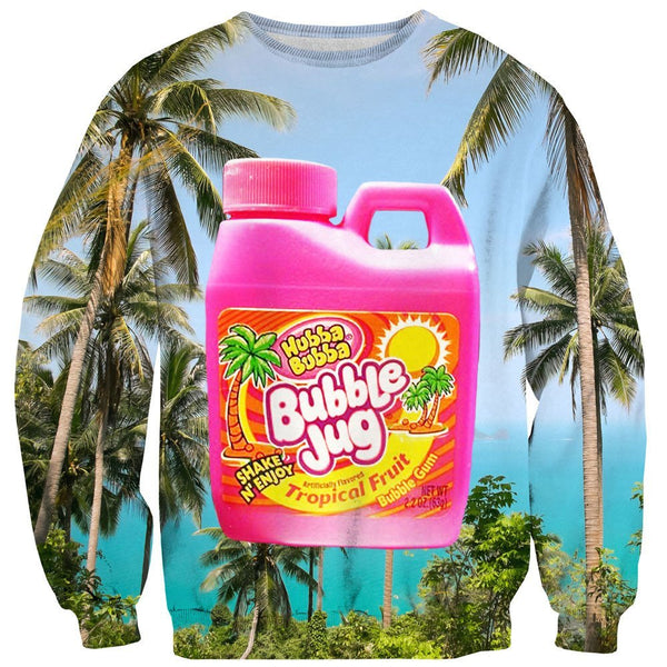Bubble Jug Sweater-Shelfies-| All-Over-Print Everywhere - Designed to Make You Smile