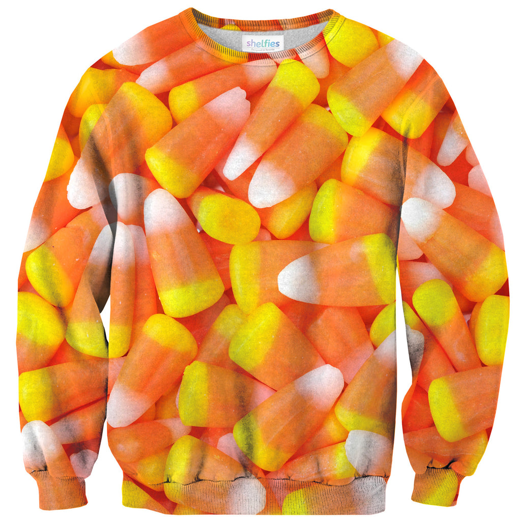 Candy Corn Invasion Sweater-Shelfies-| All-Over-Print Everywhere - Designed to Make You Smile