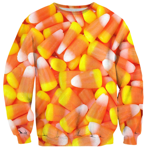 Candy Corn Invasion Sweater-Shelfies-XS-| All-Over-Print Everywhere - Designed to Make You Smile