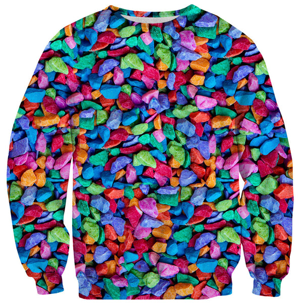Candy Rocks Invasion Sweater-Shelfies-| All-Over-Print Everywhere - Designed to Make You Smile