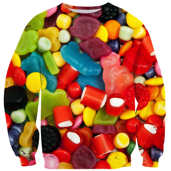 Candy Store Invasion Sweater-Shelfies-| All-Over-Print Everywhere - Designed to Make You Smile