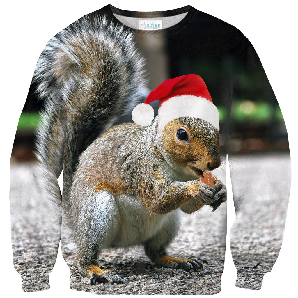 Christmas Squirrel.Christmas Squirrel Sweater