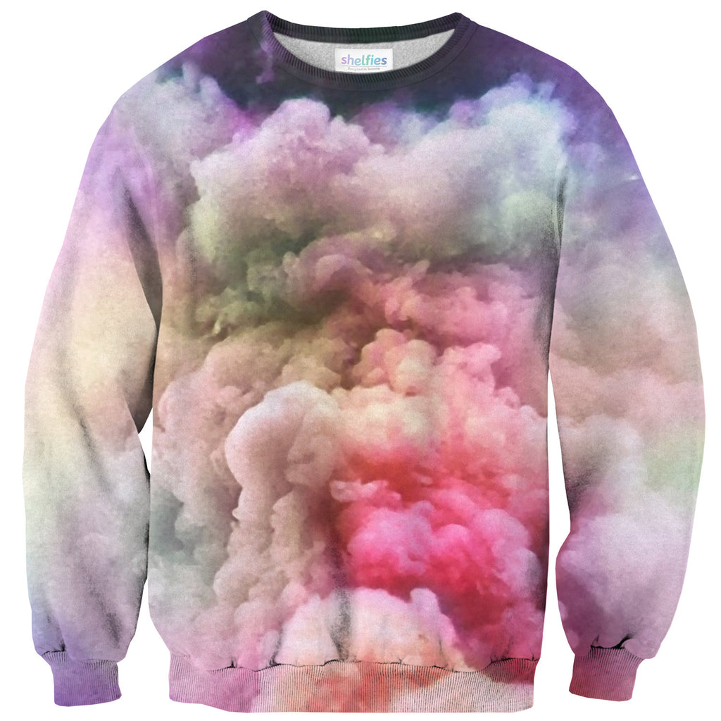 Cloud of Love Sweater - Shelfies | All-Over-Print Everywhere - Designed to Make You Smile