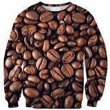 Coffee Sweater - Shelfies | All-Over-Print Everywhere - Designed to Make You Smile