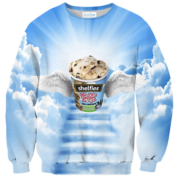 Cookie Dough Heaven Sweater-Shelfies-| All-Over-Print Everywhere - Designed to Make You Smile