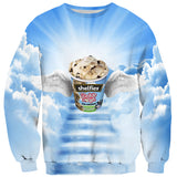 Cookie Dough Heaven Sweater - Shelfies | All-Over-Print Everywhere - Designed to Make You Smile