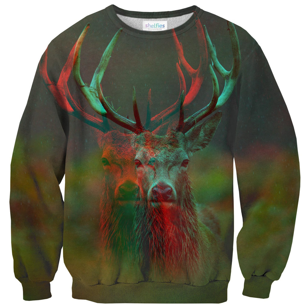 Deer Sweater-Subliminator-| All-Over-Print Everywhere - Designed to Make You Smile