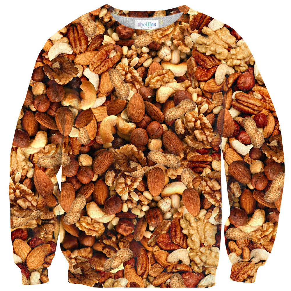 Deez Nuts Invasion Sweater-Shelfies-| All-Over-Print Everywhere - Designed to Make You Smile