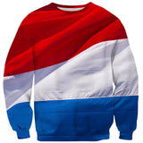 Dutch (Netherlands) Flag Sweater-Shelfies-| All-Over-Print Everywhere - Designed to Make You Smile