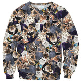 Fashion Pets Sweater - Shelfies | All-Over-Print Everywhere - Designed to Make You Smile