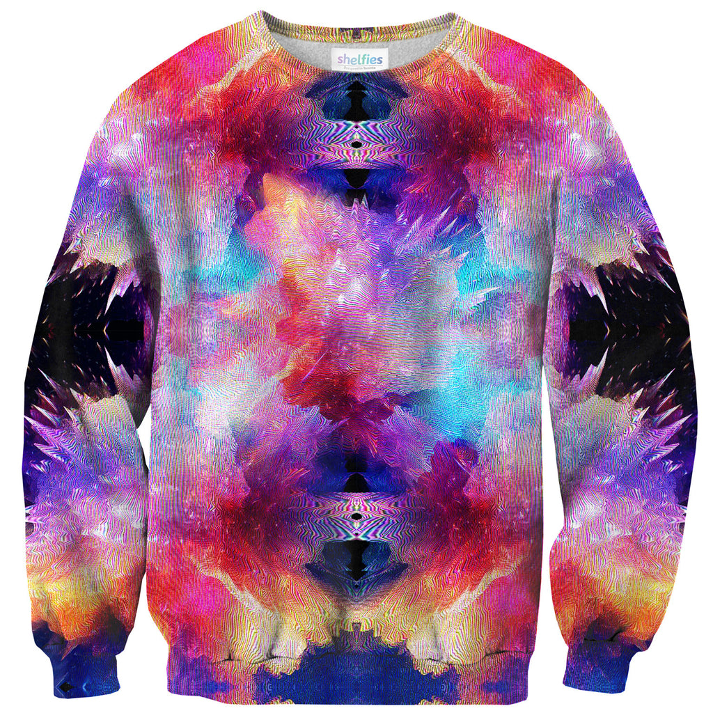 Galaxy Snap Sweater - Shelfies | All-Over-Print Everywhere - Designed to Make You Smile