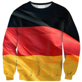 German Flag Sweater-Shelfies-| All-Over-Print Everywhere - Designed to Make You Smile