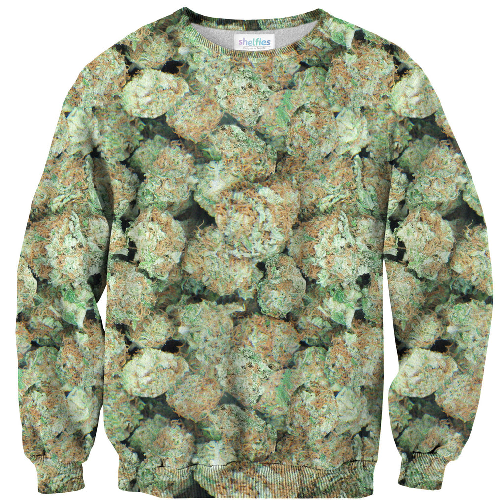 Green Goblin Sweater-Shelfies-XS-| All-Over-Print Everywhere - Designed to Make You Smile