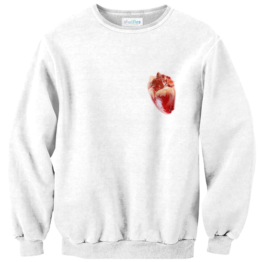 Heart Sweater-Shelfies-| All-Over-Print Everywhere - Designed to Make You Smile