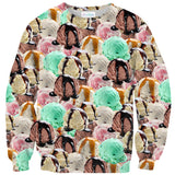 Ice Cream Invasion Sweater-Shelfies-| All-Over-Print Everywhere - Designed to Make You Smile