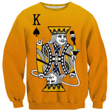 Kingsday Sweater - Shelfies | All-Over-Print Everywhere - Designed to Make You Smile
