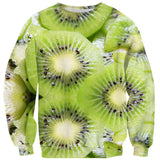 Kiwi Invasion Sweater-Subliminator-| All-Over-Print Everywhere - Designed to Make You Smile