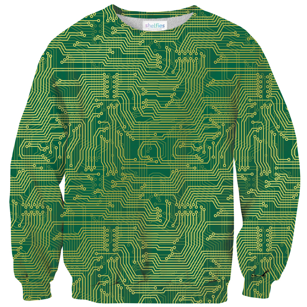 Microchip Sweater-Shelfies-| All-Over-Print Everywhere - Designed to Make You Smile