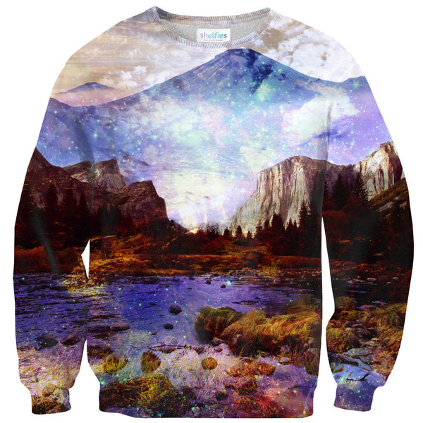 Misty Mountains Sweater-Shelfies-XS-| All-Over-Print Everywhere - Designed to Make You Smile