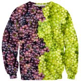Mixed Grapes Sweater-Shelfies-| All-Over-Print Everywhere - Designed to Make You Smile