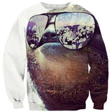 Money On My Mind Sloth Sweater-Subliminator-| All-Over-Print Everywhere - Designed to Make You Smile