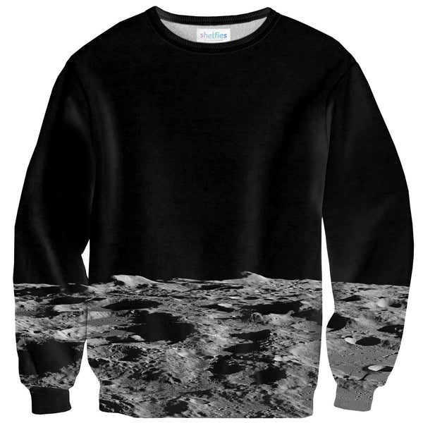 Moon Surface Sweater-Shelfies-| All-Over-Print Everywhere - Designed to Make You Smile