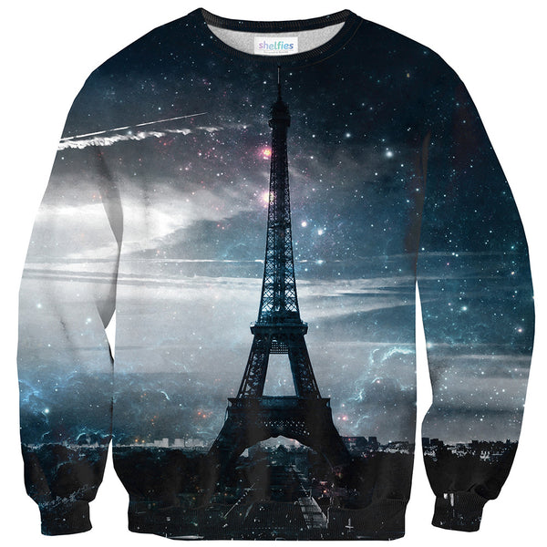 Paris Sweater-Shelfies-| All-Over-Print Everywhere - Designed to Make You Smile