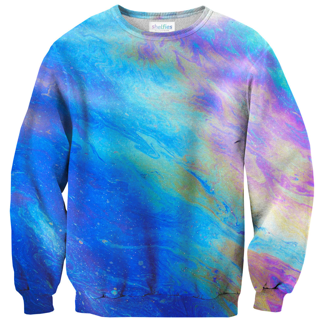Petroleum Party Sweater-Shelfies-| All-Over-Print Everywhere - Designed to Make You Smile