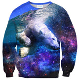 Polar Bear Sweater-Shelfies-| All-Over-Print Everywhere - Designed to Make You Smile