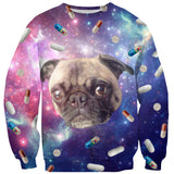 Sweatshirts - Pugs With Drugs Sweater