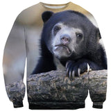 Sweatshirts - Sad Bear Sweater