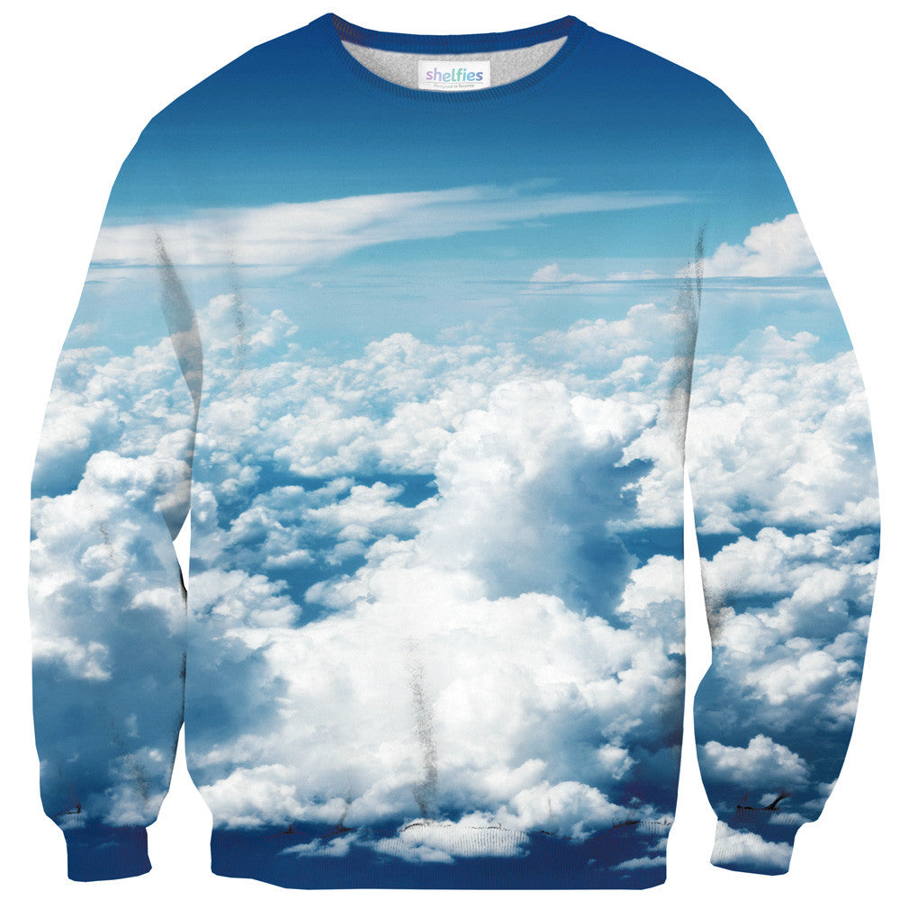 Sky Sweater-Shelfies-| All-Over-Print Everywhere - Designed to Make You Smile