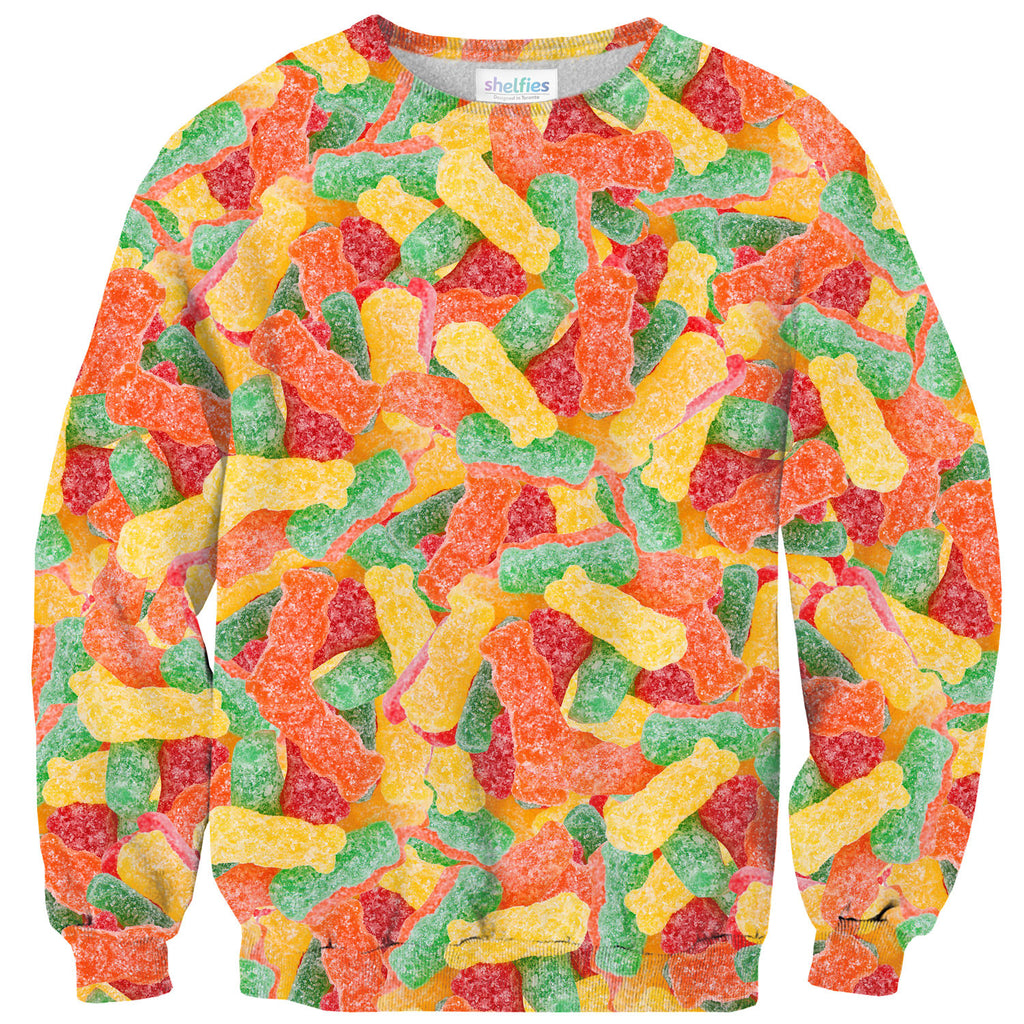 Sour Candies Invasion Sweater-Shelfies-| All-Over-Print Everywhere - Designed to Make You Smile