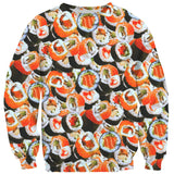 Sushi Invasion Sweater-Shelfies-| All-Over-Print Everywhere - Designed to Make You Smile