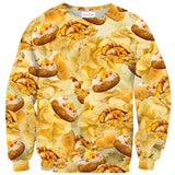 "Potatoes ""Taters Gonna Tate"" Invasion Sweater-Shelfies-
