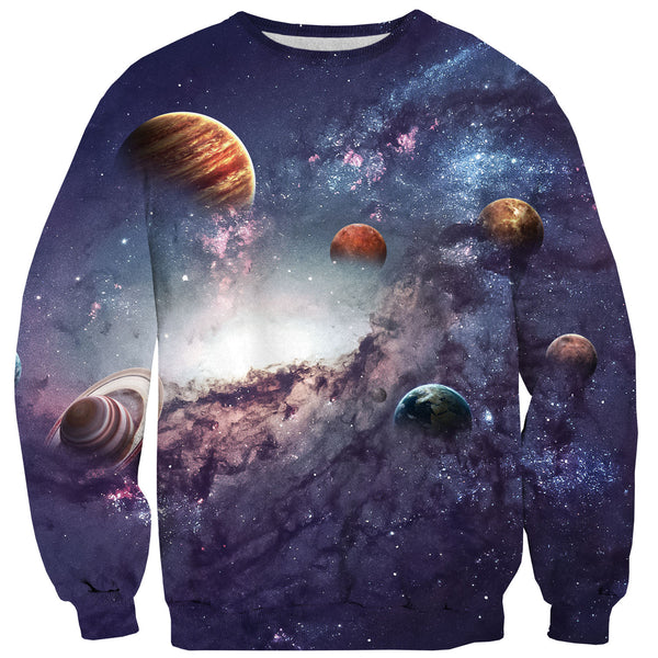 The Cosmos Sweater-Shelfies-| All-Over-Print Everywhere - Designed to Make You Smile