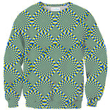 Trippy Snakes Sweater-Shelfies-| All-Over-Print Everywhere - Designed to Make You Smile