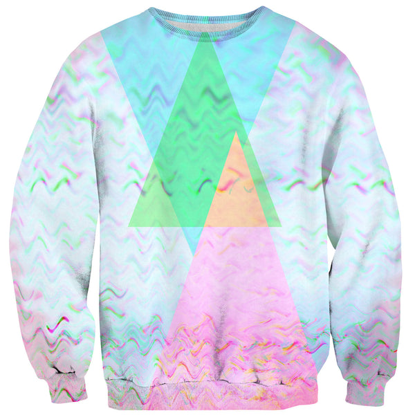 Trippy Wolf Sweater-Shelfies-| All-Over-Print Everywhere - Designed to Make You Smile