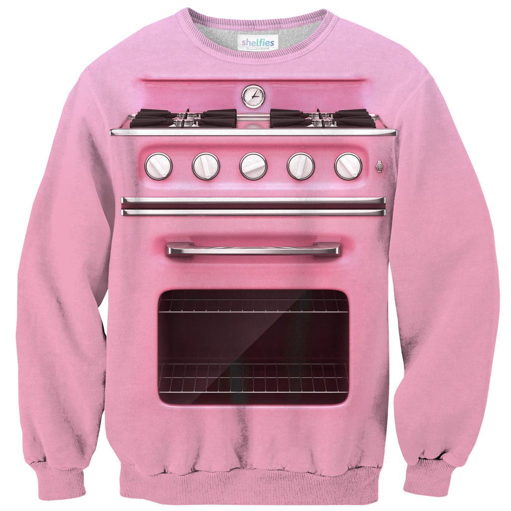 Vintage Oven Sweater-Shelfies-| All-Over-Print Everywhere - Designed to Make You Smile