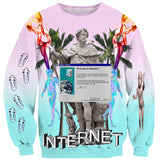 Sweatshirts - Welcome To The Internet Sweater