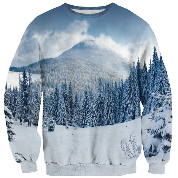 Winter Wonderland Sweater-Shelfies-| All-Over-Print Everywhere - Designed to Make You Smile